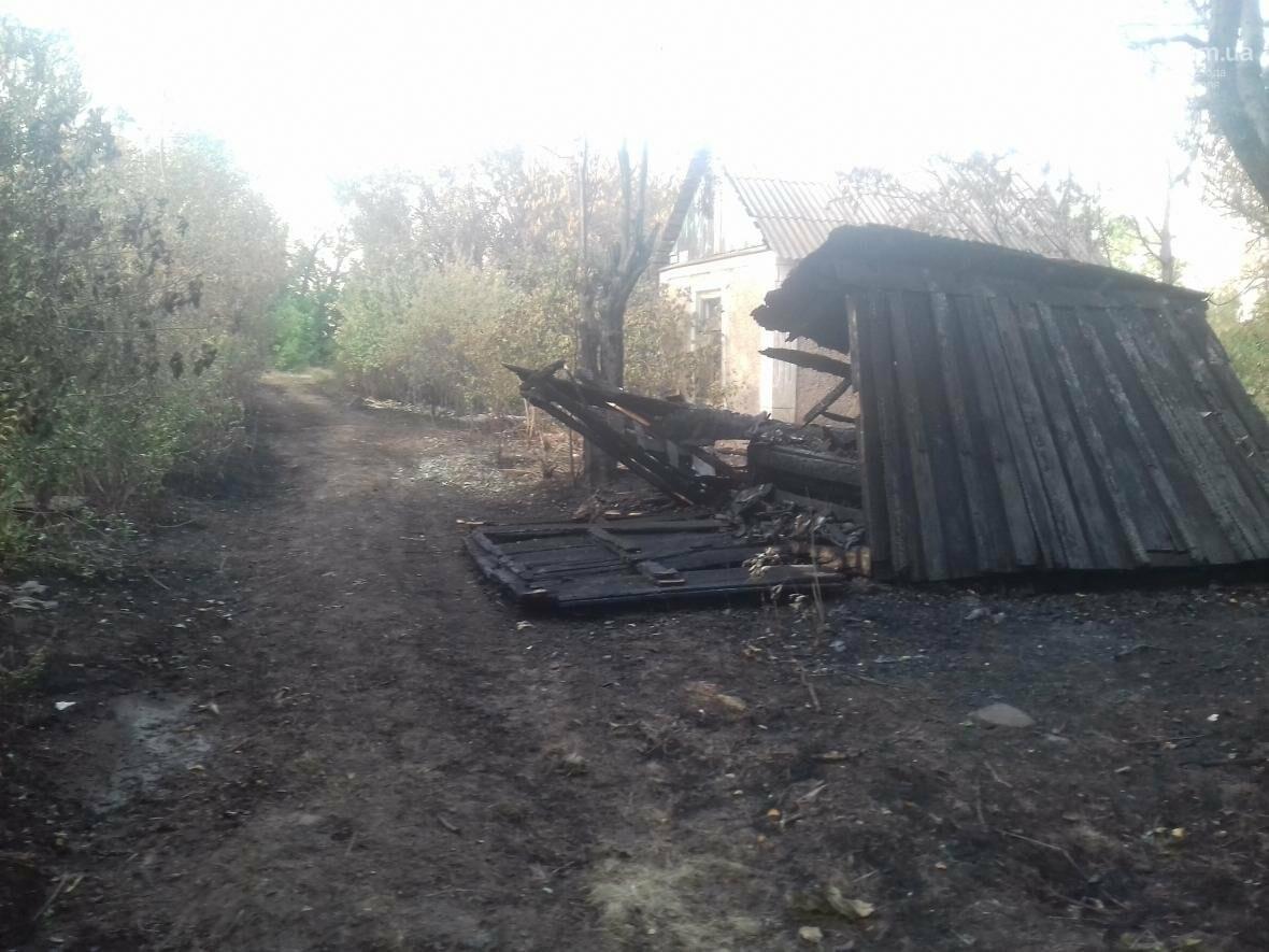 В Мариуполе  сгорело тридцать домов  в результате пожара на строительном складе (ФОТО, ВИДЕО), фото-1