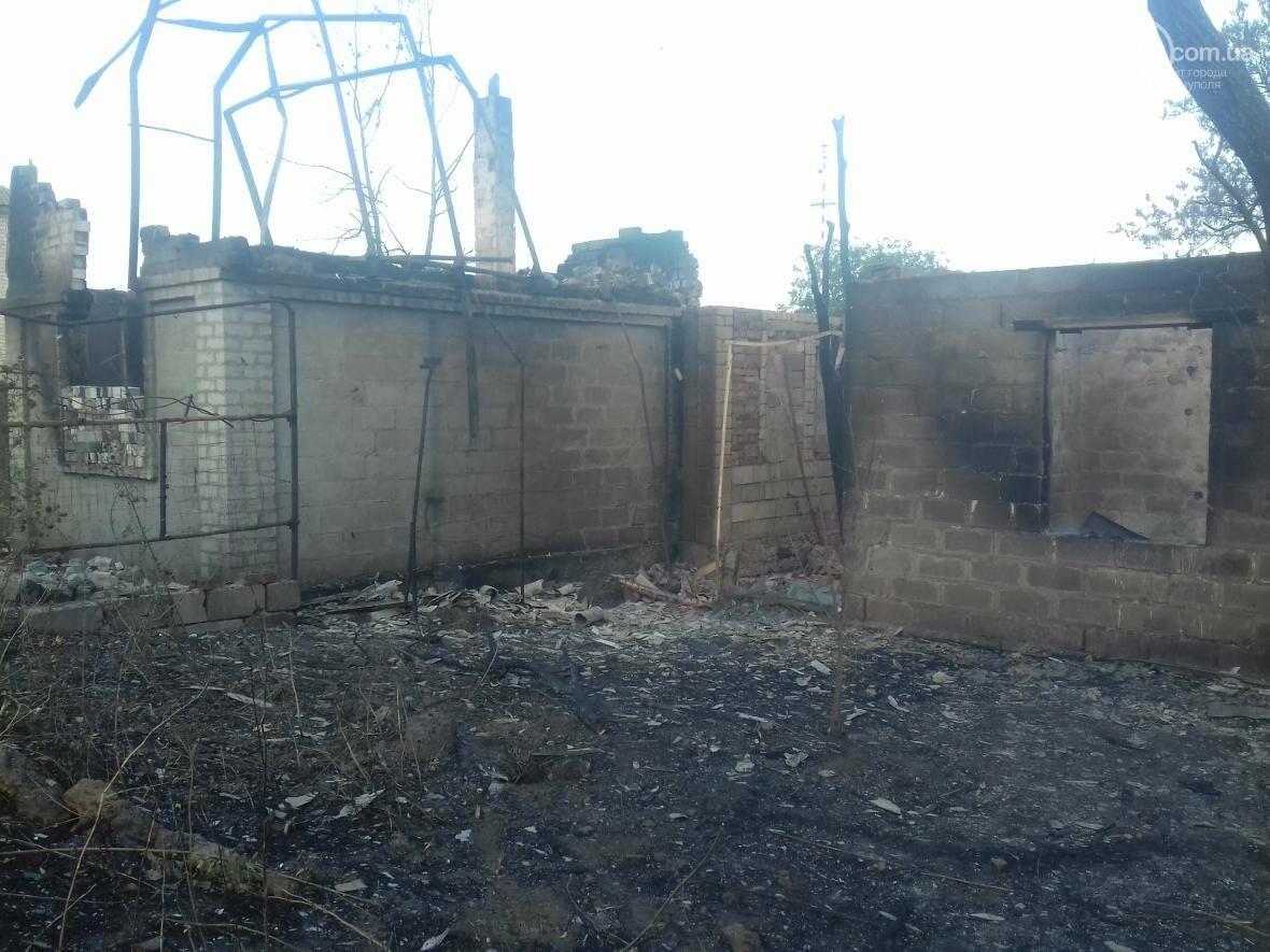 В Мариуполе  сгорело тридцать домов  в результате пожара на строительном складе (ФОТО, ВИДЕО), фото-2