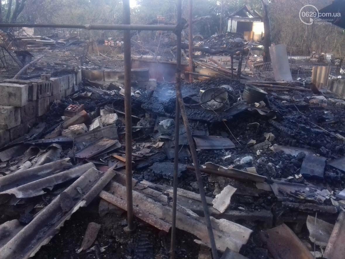 В Мариуполе  сгорело тридцать домов  в результате пожара на строительном складе (ФОТО, ВИДЕО), фото-3