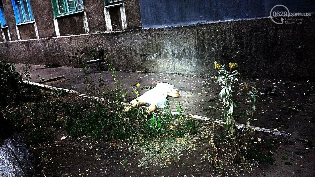 В Мариуполе обвалился балкон. Погиб молодой парень (ФОТО 18+), фото-3