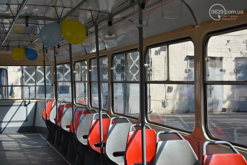 В Мариуполе вышли на линию старые трамваи с Wi-fi, GPS и камерой видеонаблюдения (ФОТО), фото-9