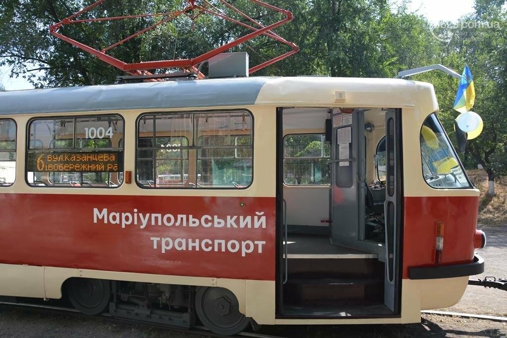 В Мариуполе вышли на линию старые трамваи с Wi-fi, GPS и камерой видеонаблюдения (ФОТО), фото-1