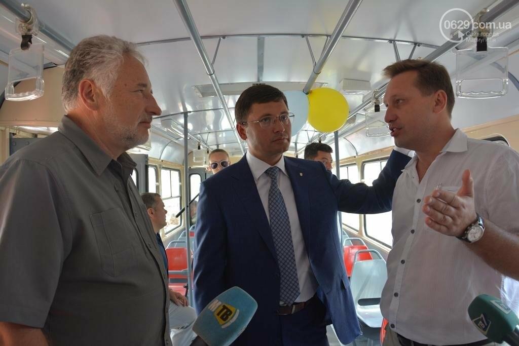 В Мариуполе вышли на линию старые трамваи с Wi-fi, GPS и камерой видеонаблюдения (ФОТО), фото-6