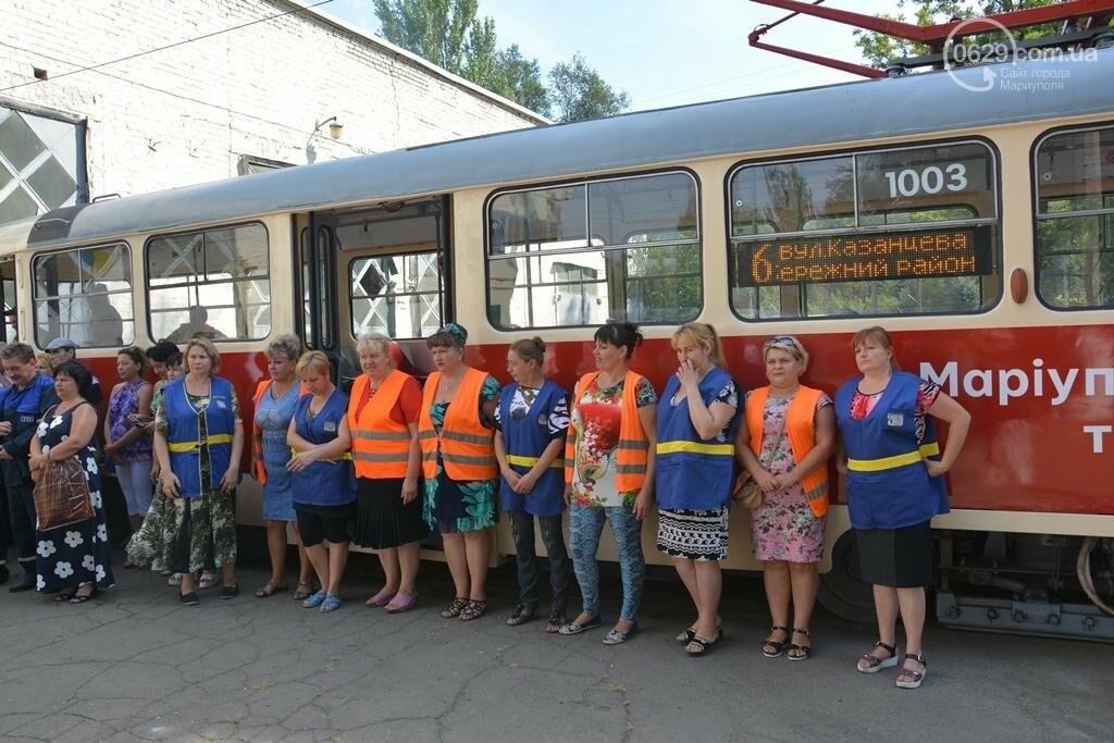 В Мариуполе вышли на линию старые трамваи с Wi-fi, GPS и камерой видеонаблюдения (ФОТО), фото-7