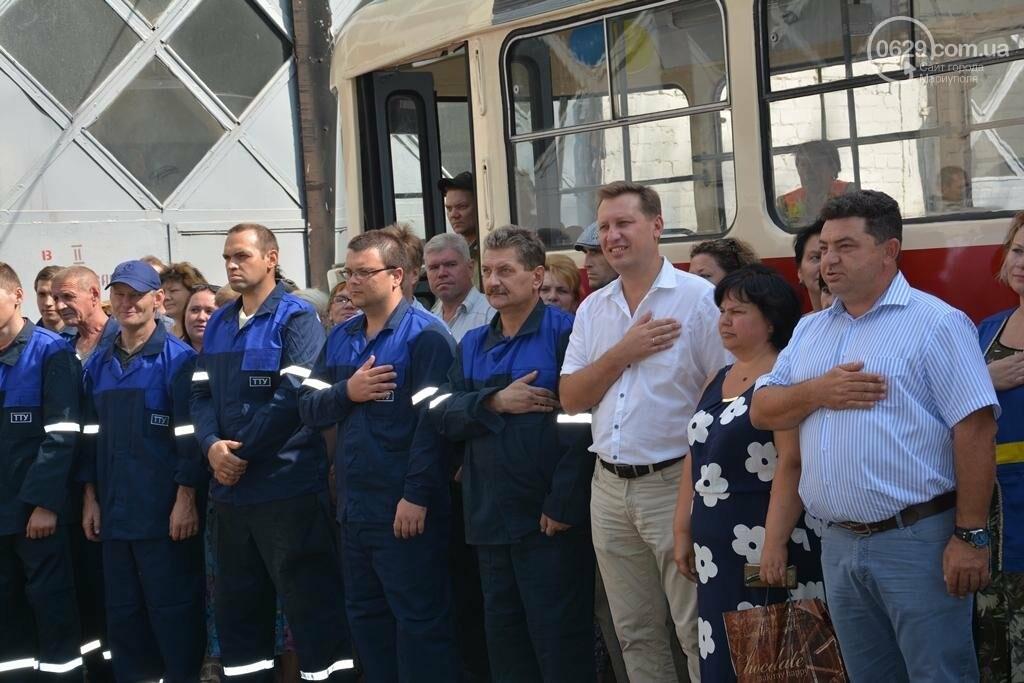 В Мариуполе вышли на линию старые трамваи с Wi-fi, GPS и камерой видеонаблюдения (ФОТО), фото-5