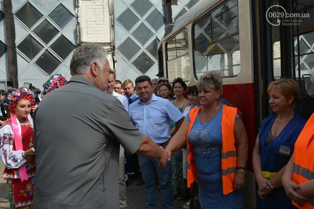В Мариуполе вышли на линию старые трамваи с Wi-fi, GPS и камерой видеонаблюдения (ФОТО), фото-8