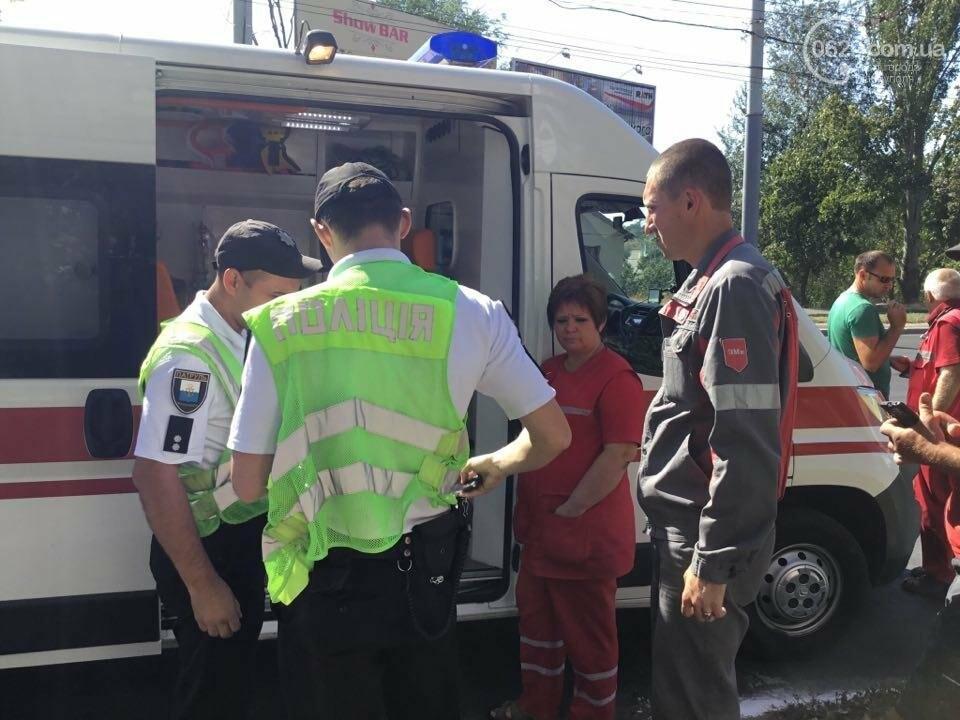 """В Мариуполе """"Тойота"""" столкнулась с микроавтобусом. Есть пострадавший (ФОТО+ВИДЕО), фото-2"""