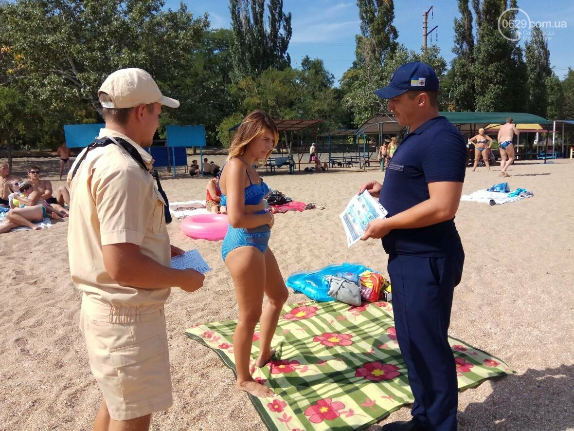 В Мариуполе спасатели поработали с пляжниками (ФОТО), фото-4