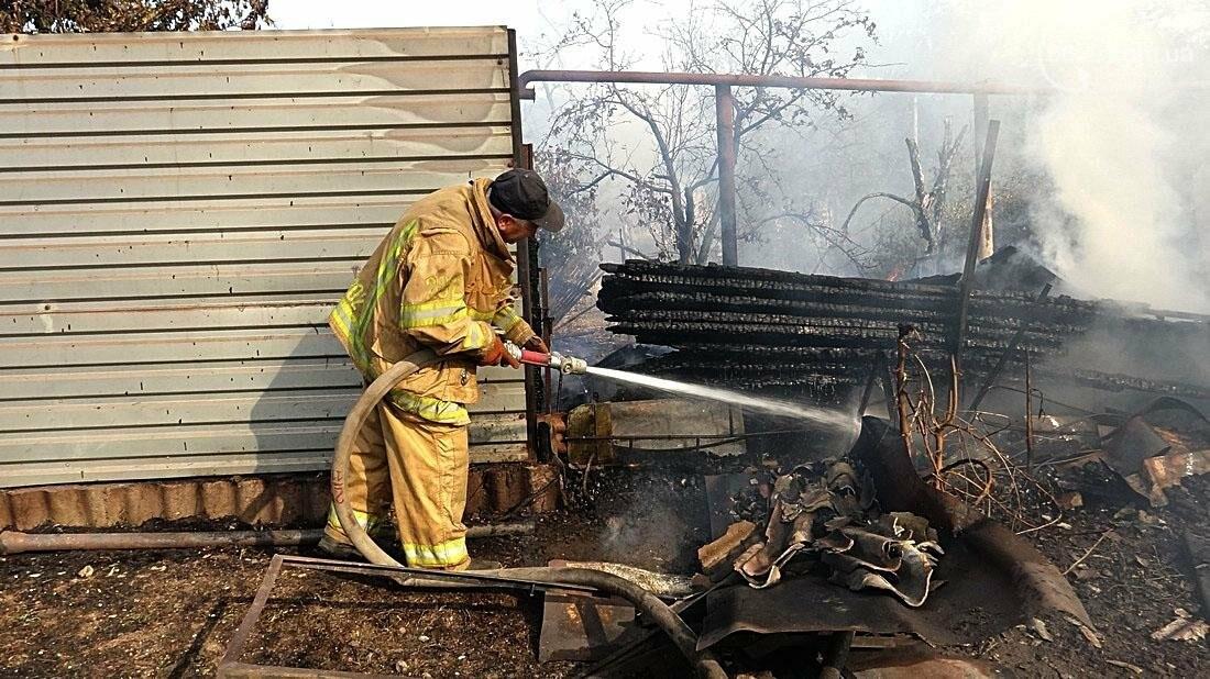 В Кальмиусском районе Мариуполя сгорел дом (ФОТО), фото-13