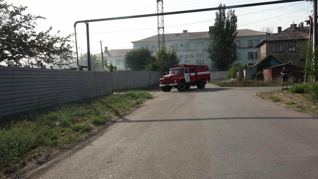 В Кальмиусском районе Мариуполя сгорел дом (ФОТО), фото-14