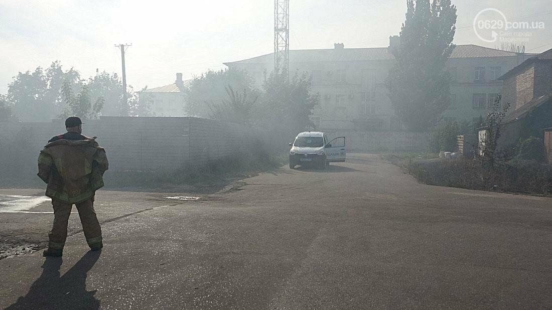 В Кальмиусском районе Мариуполя сгорел дом (ФОТО), фото-1