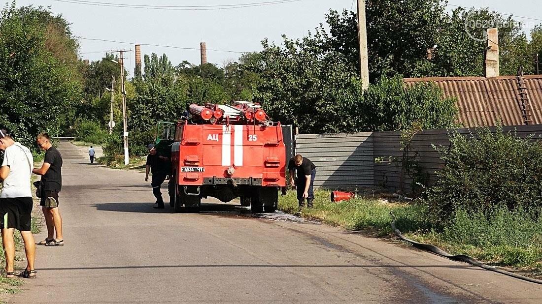 В Кальмиусском районе Мариуполя сгорел дом (ФОТО), фото-4
