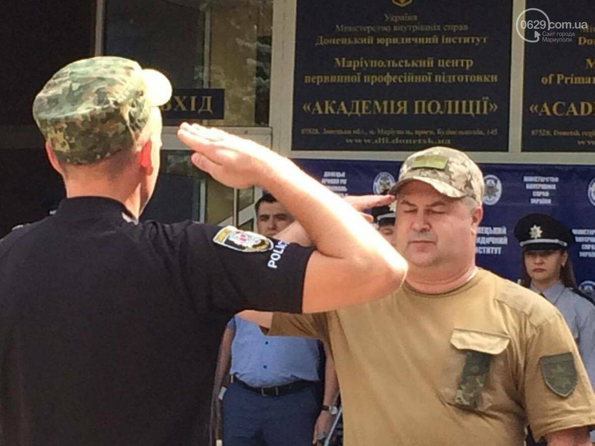 Выпусники полицейской  академии из Луганской области приняли присягу в  Мариуполе (ФОТО, ВИДЕО), фото-7