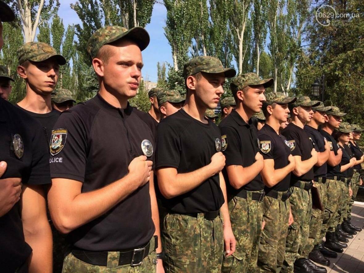 Выпусники полицейской  академии из Луганской области приняли присягу в  Мариуполе (ФОТО, ВИДЕО), фото-4