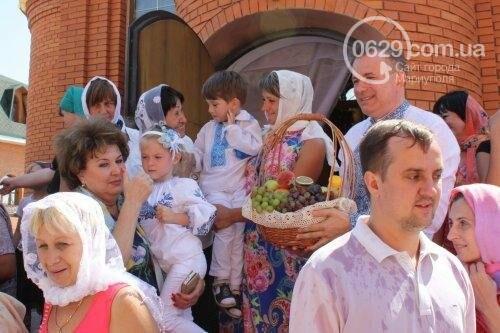 В Свято-Покровском храме с.Боевое славили чудо Преображения Господня и освящали плоды нового урожая, фото-39