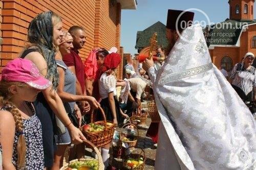 В Свято-Покровском храме с.Боевое славили чудо Преображения Господня и освящали плоды нового урожая, фото-45