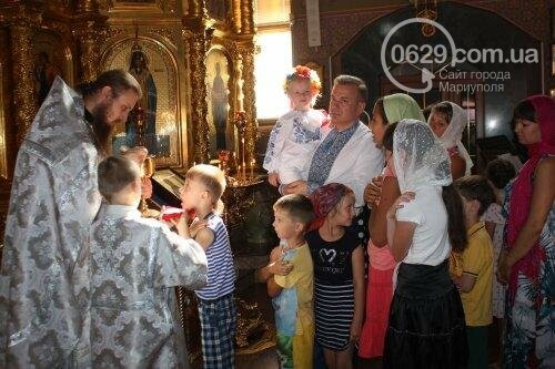 В Свято-Покровском храме с.Боевое славили чудо Преображения Господня и освящали плоды нового урожая, фото-10
