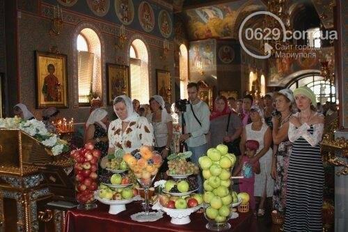 В Свято-Покровском храме с.Боевое славили чудо Преображения Господня и освящали плоды нового урожая, фото-18