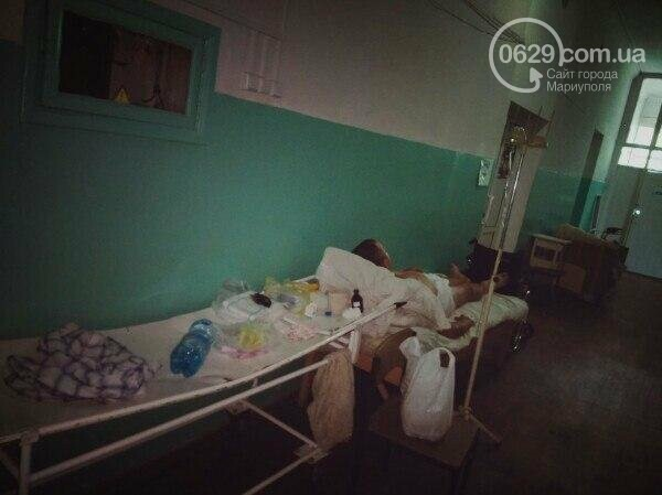 В мариупольской горбольнице пациент трое суток обитал в коридоре (ФОТО), фото-1