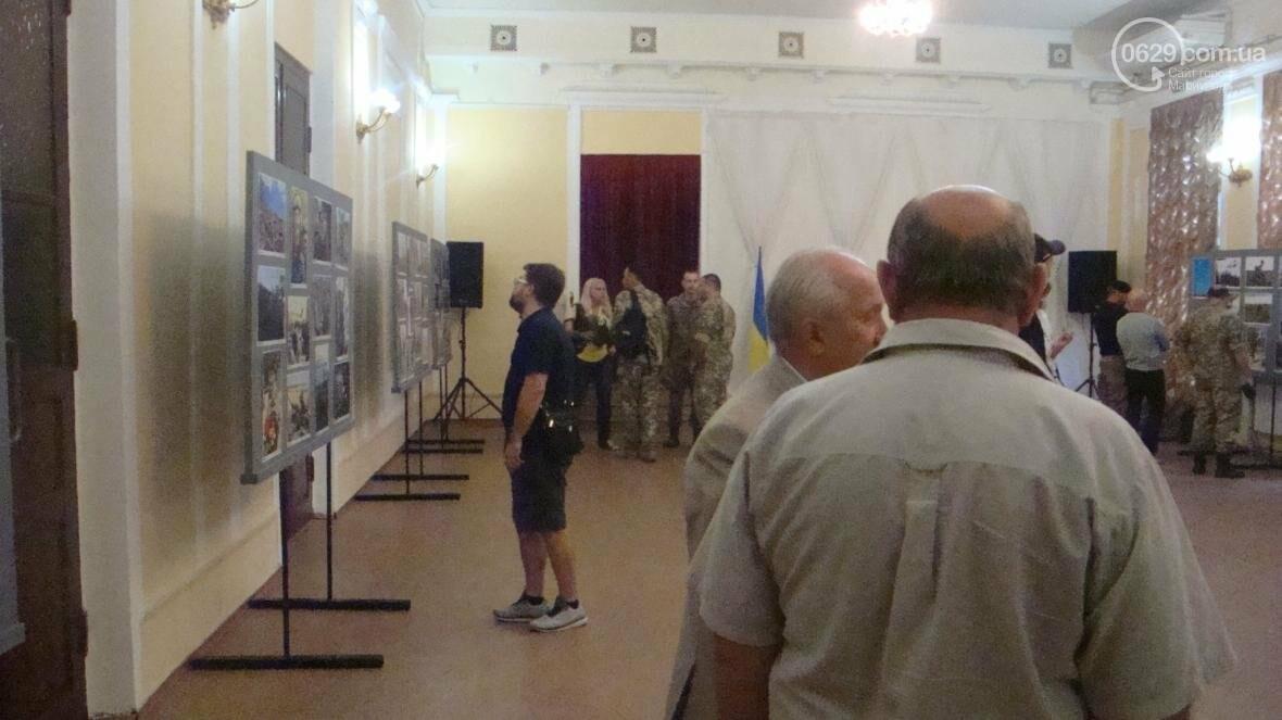 В Мариуполе открылась персональная выставка военного корреспондента (ФОТО), фото-1
