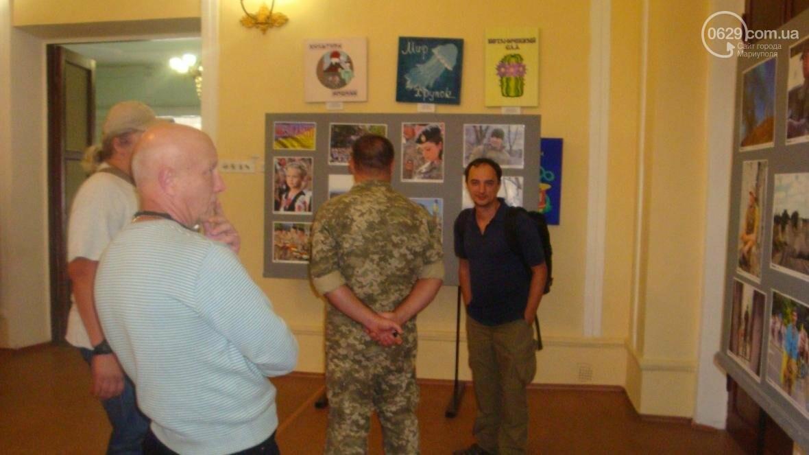 В Мариуполе открылась персональная выставка военного корреспондента (ФОТО), фото-3