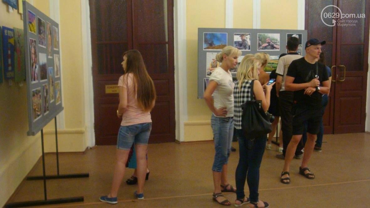 В Мариуполе открылась персональная выставка военного корреспондента (ФОТО), фото-4