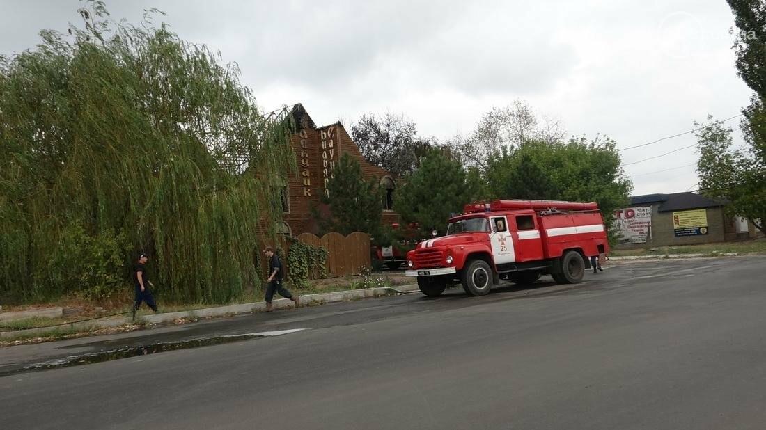 "В Мариуполе горит сауна ""Клондайк""  (ДОПОЛНЕНО ФОТО), фото-17"