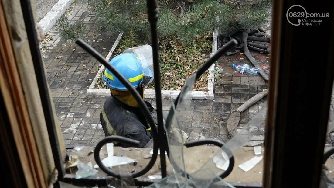 "В Мариуполе горит сауна ""Клондайк""  (ДОПОЛНЕНО ФОТО), фото-21"