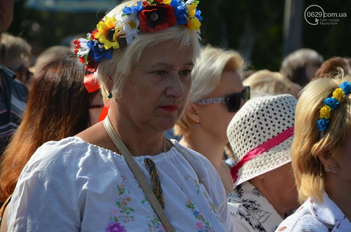 В Мариуполе молились за Украину и высадили флаг ко Дню независимости (ФОТО+ВИДЕО), фото-10