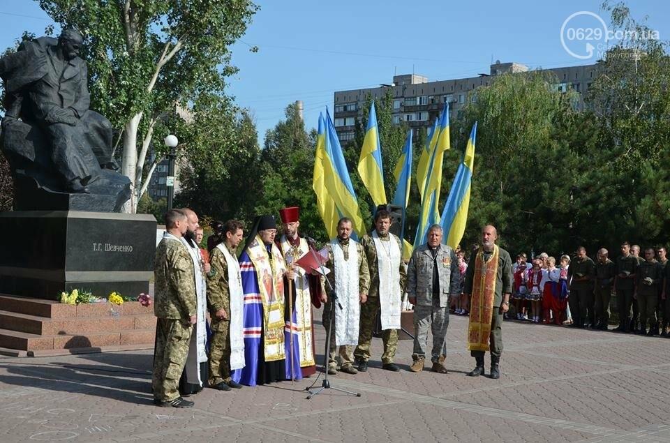 В Мариуполе молились за Украину и высадили флаг ко Дню независимости (ФОТО+ВИДЕО), фото-21