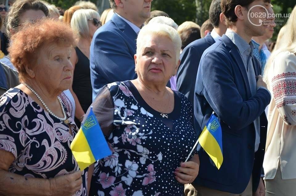 В Мариуполе молились за Украину и высадили флаг ко Дню независимости (ФОТО+ВИДЕО), фото-17