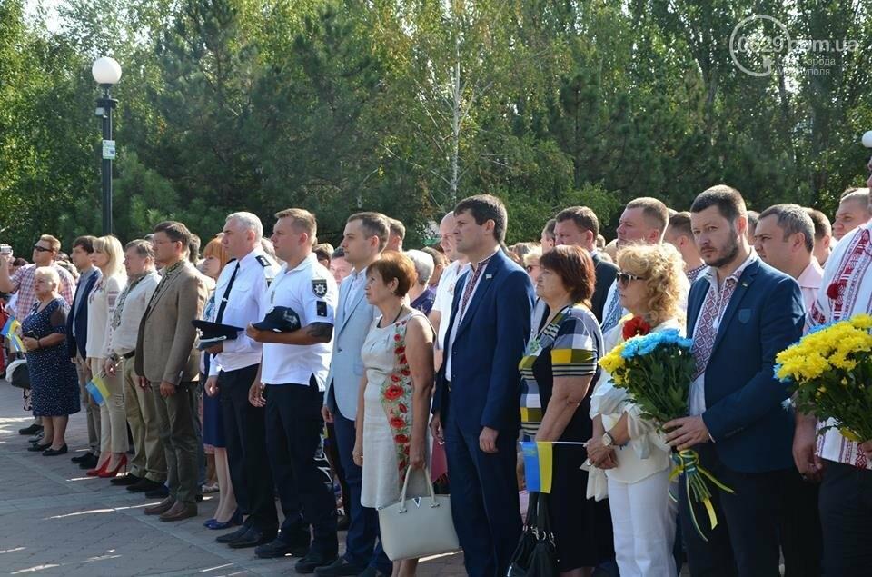 В Мариуполе молились за Украину и высадили флаг ко Дню независимости (ФОТО+ВИДЕО), фото-25