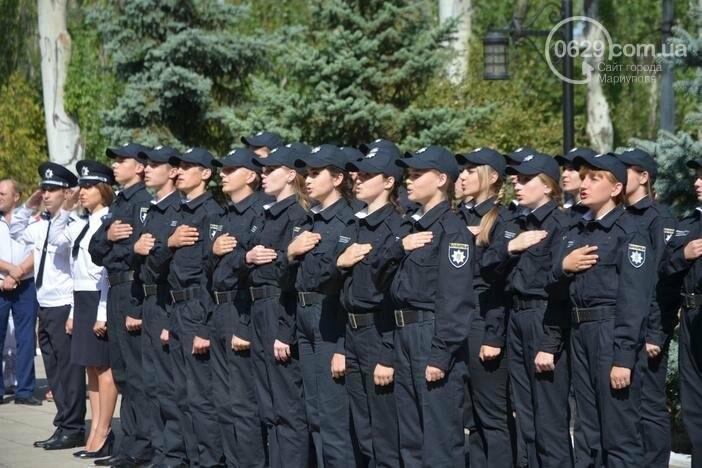 В Мариуполе ряды академии полиции пополнили 50 курсантов, фото-4