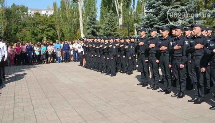 В Мариуполе ряды академии полиции пополнили 50 курсантов, фото-3