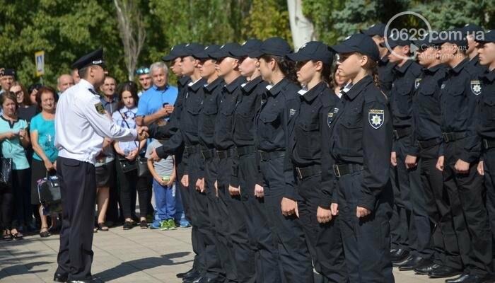 В Мариуполе ряды академии полиции пополнили 50 курсантов, фото-6