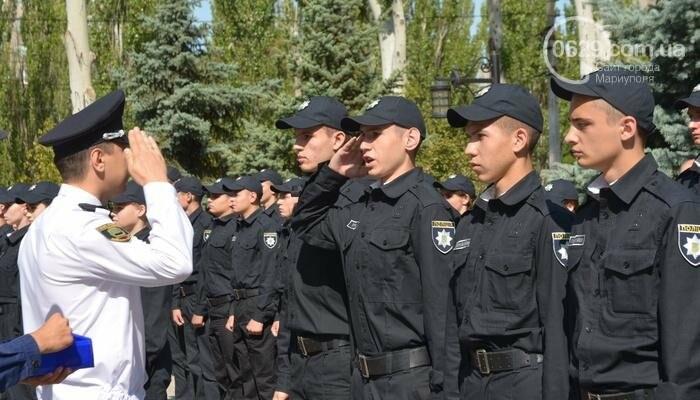 В Мариуполе ряды академии полиции пополнили 50 курсантов, фото-10