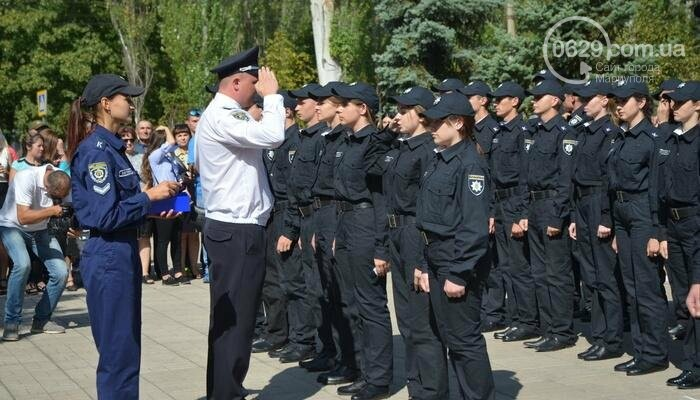 В Мариуполе ряды академии полиции пополнили 50 курсантов, фото-11
