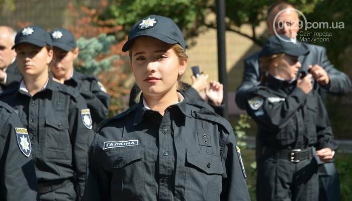 В Мариуполе ряды академии полиции пополнили 50 курсантов, фото-5