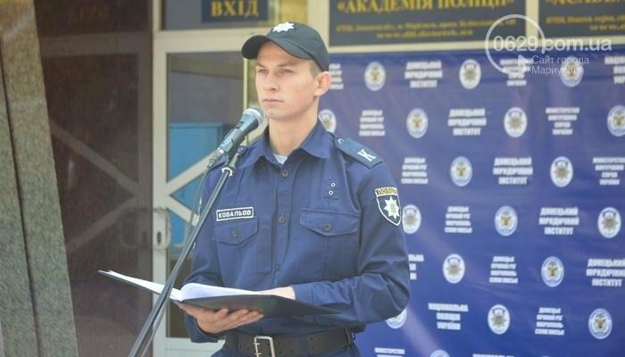В Мариуполе ряды академии полиции пополнили 50 курсантов, фото-2