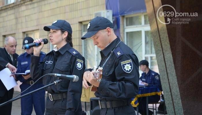 В Мариуполе ряды академии полиции пополнили 50 курсантов, фото-8