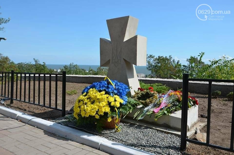 В Мариуполе открыли памятник воинам, погибшим за Украину (ФОТО+ВИДЕО), фото-5