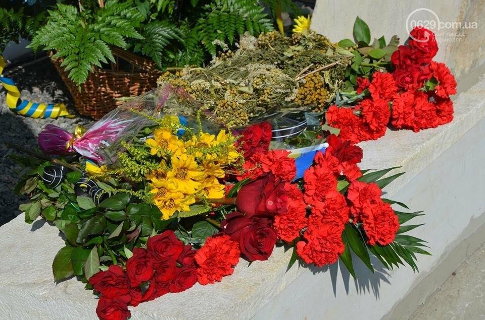 В Мариуполе открыли памятник воинам, погибшим за Украину (ФОТО+ВИДЕО), фото-8