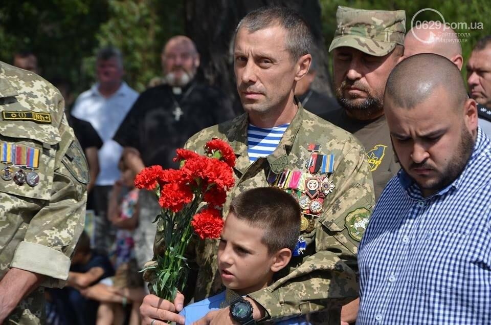 В Мариуполе открыли памятник воинам, погибшим за Украину (ФОТО+ВИДЕО), фото-2