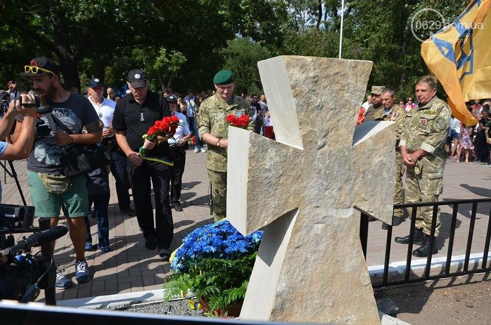 В Мариуполе открыли памятник воинам, погибшим за Украину (ФОТО+ВИДЕО), фото-11