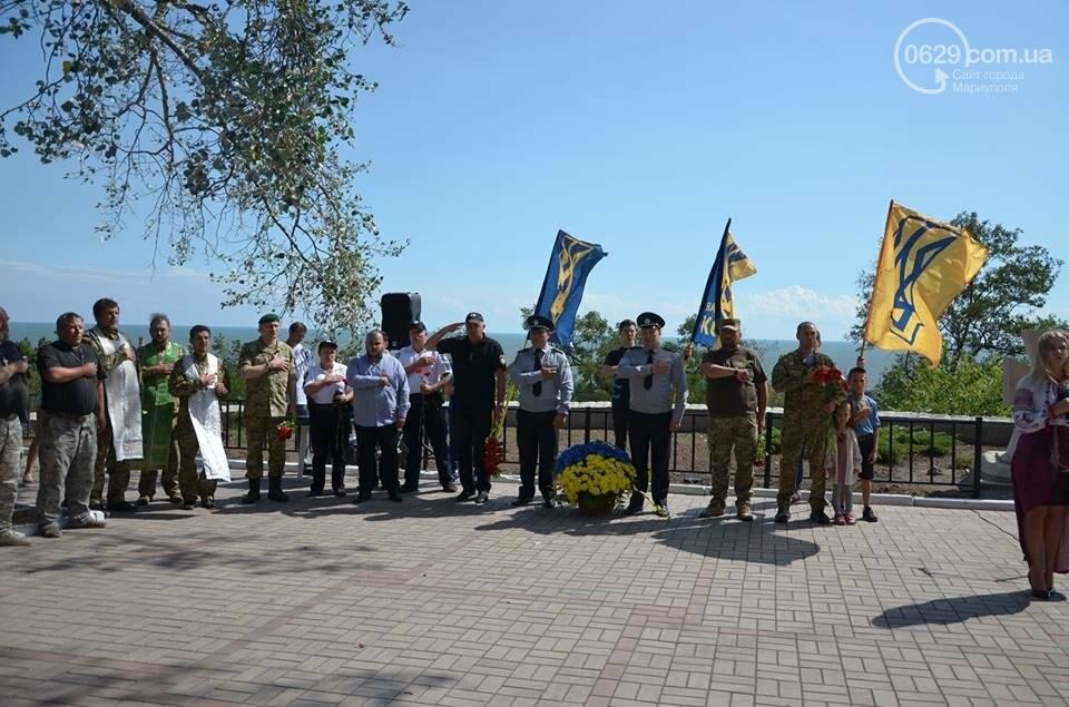 В Мариуполе открыли памятник воинам, погибшим за Украину (ФОТО+ВИДЕО), фото-9