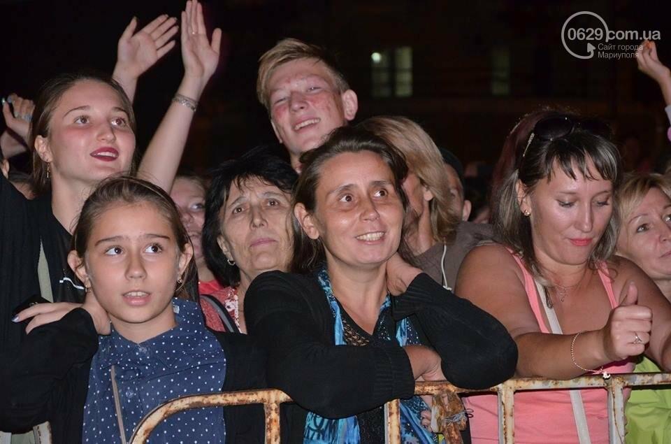 """В День независимости мариупольцев развлекали Могилевская и """"Real O"""" (ФОТО+ВИДЕО), фото-21"""