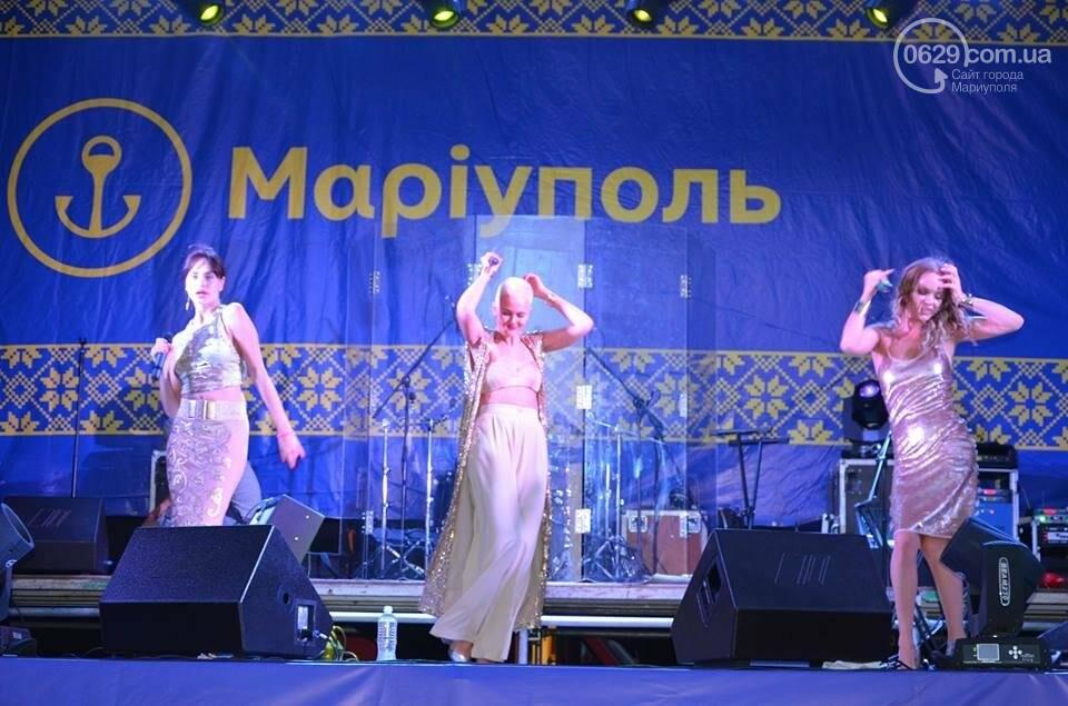 """В День независимости мариупольцев развлекали Могилевская и """"Real O"""" (ФОТО+ВИДЕО), фото-2"""