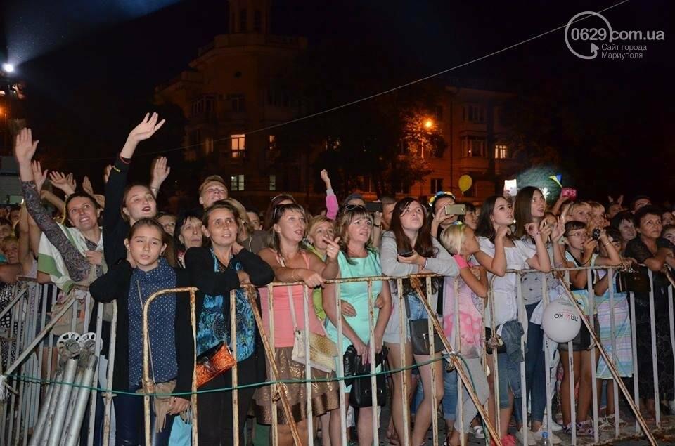 """В День независимости мариупольцев развлекали Могилевская и """"Real O"""" (ФОТО+ВИДЕО), фото-26"""