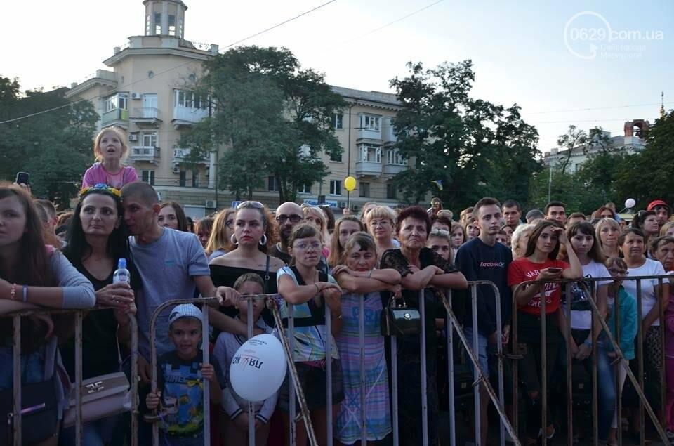 """В День независимости мариупольцев развлекали Могилевская и """"Real O"""" (ФОТО+ВИДЕО), фото-45"""