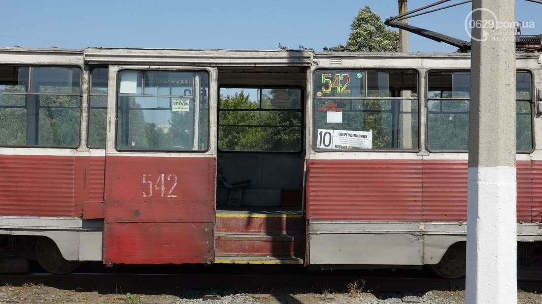 В Мариуполе трамвай сошел с рельс (ФОТО), фото-6